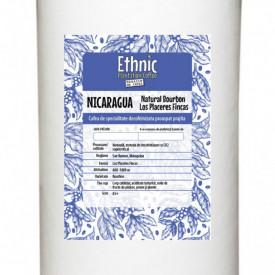 Natural Nicaragua Bourbon Los Placeres Fincas Arabica decofeinizata ORGANIC prin metoda CO 2 SUPERCRITIC