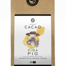 PINA PIG CACAO ALVEUS - BIO --CONTAINING DRINK POWDER PINEAPPLE-CREAM TASTE