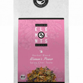 WOMEN'S POWER- TEA ORGANIC HERBAL BLEND - HANDMADE -Spicy Chai Taste, 100g plic