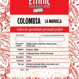 COLOMBIA LA MANUELA ARABICA RECOLTA 2020 cafea de specialitate proaspat prajita