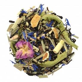 LADY STAR DELUXE amestec de ceai negru, fructe si plante Bio cu gust de bergamota, portocala si lamaie