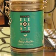 SMILLING BUDDHA - TEA ORGANIC GREEN BLEND -HANDMADE - Ginger Lemon taste cutie metalica