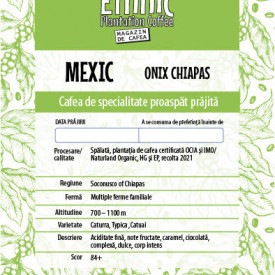 COLOMBIA MEXIC ONIX/IMO Naturland Organic High Grown EP cafea de specialitate proaspat prajita