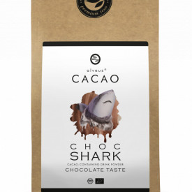 CHOCO SHARK CACAO ALVEUS - BIO CACAO PUDRA --CONTAINING DRINK POWDER CHOCOLATE TASTE
