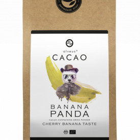 BANANA PANDA CACAO ALVEUS - BIO --CONTAINING DRINK POWDER CHERRY BANANA TASTE