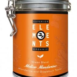 MELLOW MANDARINE - ORGANIC GREEN BLEND HANDMADE - Mandarine Grapefruit Taste cutie metalica
