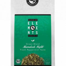 MARRAKESH NIGHTS TEA ORGANIC HANDMADE ceai verde si plante cu gust de menta proaspata