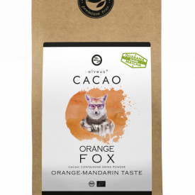 ORANGE FOX CACAO ALVEUS - BIO --CONTAINING DRINK POWDER ORANGE- MANDARINE TASTE