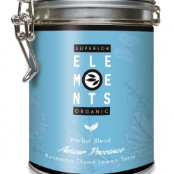 AMOUR PROVENCE - ORGANIC HERBAL BLEND HANDMADE - Rosemary Thyme Lemon TASTE cutie metalica