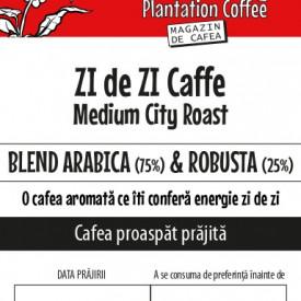 CAFEA BOABE proaspat prajita ZIdeZIcaffe 75% Arabica & 25% Robusta