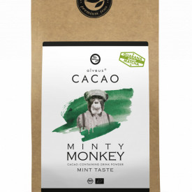 MINTY MONKEY CACAO ALVEUS - BIO --CONTAINING DRINK POWDER MINT TASTE