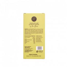 Tabletă Artizanala de Ciocolată Alba si Fructe Exotice100g