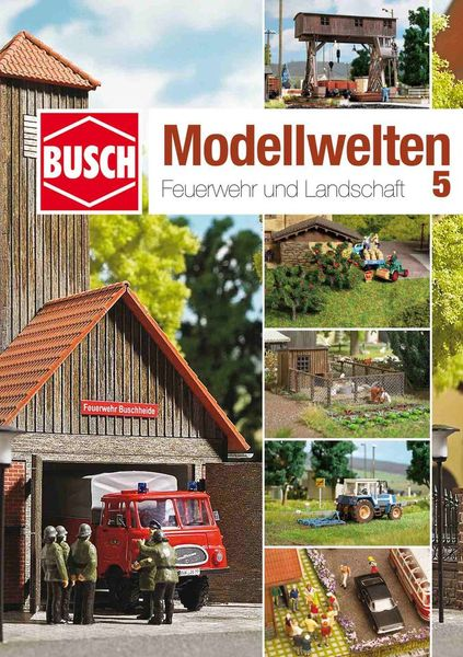 BUSCH 999815 BASTELHEFT MODELLWELTEN 5 NIEUW