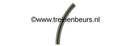 Fleischmann 9125 RAIL GEBOGEN R2 45 graden NIEUW