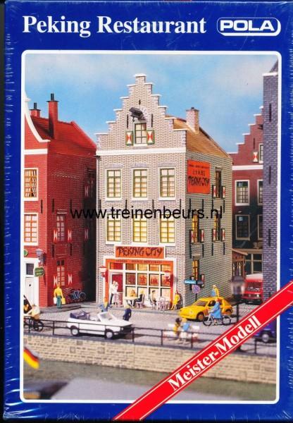 POLA 748 Nederlands* huis-klokgevel restaurant Peking City NIEUW