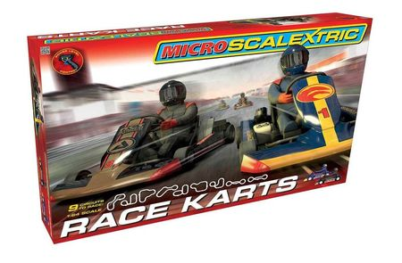 SCALEXTRIC 1120 MICRO SCALEXTRIC RACE KARTS MAINS POWERED