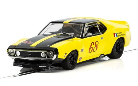 SCALEXTRIC 3921 AMX JAVELIN TRANS AM ROY WOODS 1971