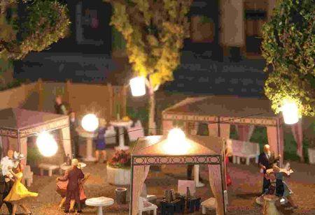 FALLER 180663 LICHTSLINGER MET LAMPIONS