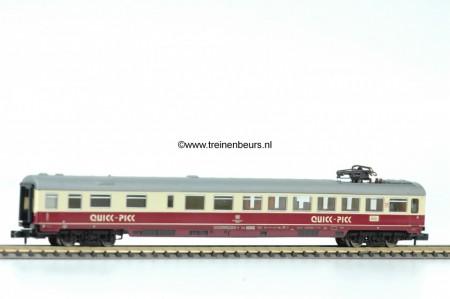 FL 8165-G TEE TEE creme/rood zwarte bodem restauratie Quick Pick gebruikt goede staat