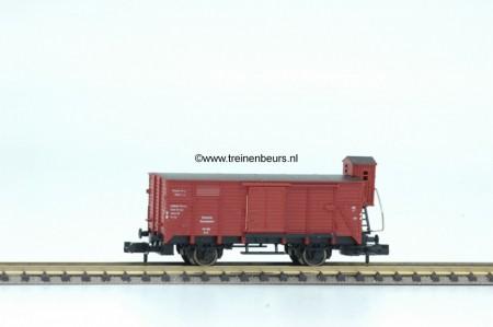 FL 8355-G Gesloten Gesloten goederenwagon met remmershuis gebruikt goede staat