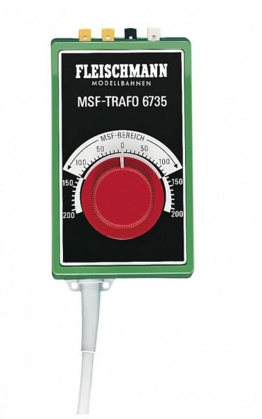 Fleischmann 6735 Trafo 14v-550mA trafo en regelapparaat in 1 H0 NIEUW