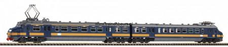 PIKO 57573 Hondekop BENELUX blauw gele streep Nieuw H0 NIEUW