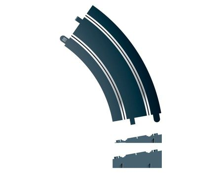 SCALEXTRIC 8297 BANKED CURVE R3 45°