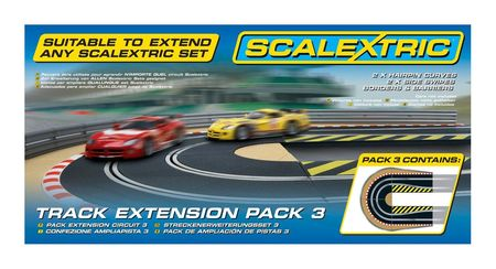 SCALEXTRIC 8512 TRACK EXTENSION PACK 3 HAIRPIN CURVE