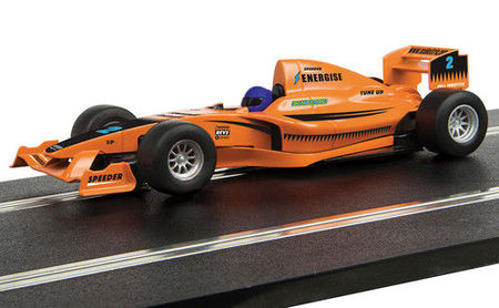 SCALEXTRIC 4114 START F1 RACING CAR – 'TEAM FULL THROTTLE (7/19) *