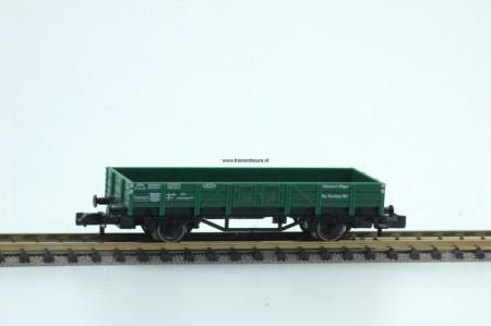 FL 8201 Open goederenwagen groen NIEUW uitloop