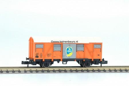 FL 8331-G Gesloten Gesloten goederenwagen CHIQUITA rond dak gebruikt goede staat