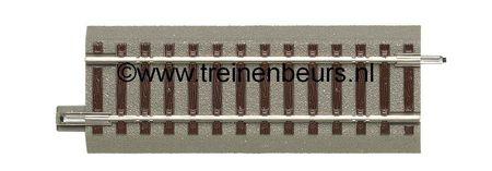 RO 61120 ROCO Geoline met bedding H0 Rechte rail 100 mm NIEUW