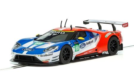 SCALEXTRIC 3858 FORD GT GTE LE MANS 2017 NO. 69