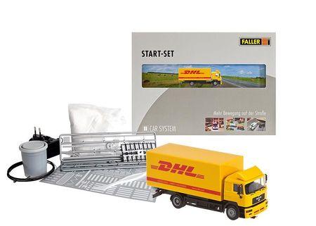 FALLER 161607 CAR SYSTEEM START-SET VRACHTWAGEN DHL