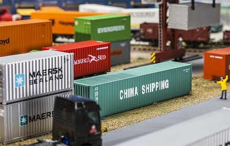 FALLER 180844 40' CONTAINER CHINA SHIPPING