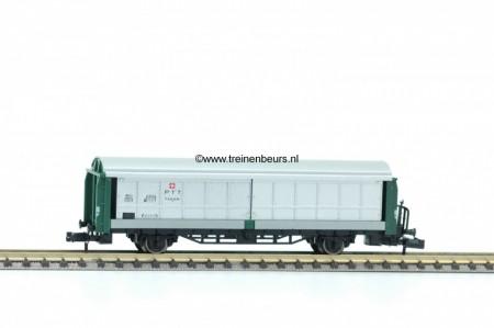 FL 8336 Schuifwand Schuifwandwagen Zwitserse postewagen NIEUW uitloop