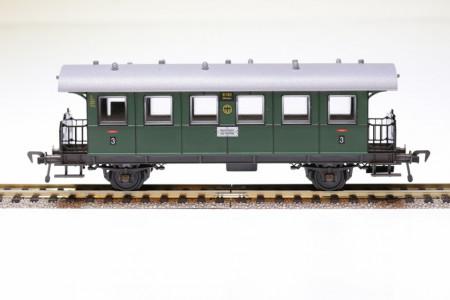 Fleischmann 5002H DB 2-assig 2-assig 3e klasse met balkon NIEUW uitloop