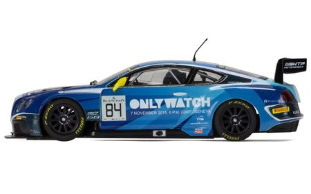 SCALEXTRIC 3846 BENTLEY CONTINENTAL GT3 TEAM HTP BLUE