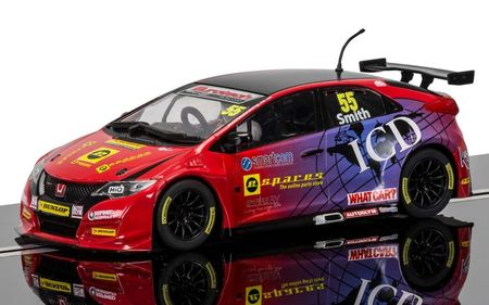SCALEXTRIC 3860 BTCC HONDA CIVIC TYPE R JEFF SMITH