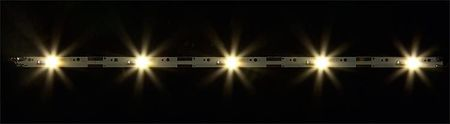 FALLER 180654 2 LICHTSTRIPS MET LEDVERLICHTING WARM WIT 80 MM