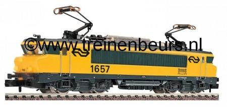 "FL 7363 E-lok E-lok NS 1657 ""Rotterdam"" geel NIEUW uitloop"