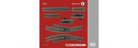 Fleischmann 6190 STATIONSSET B NIEUW