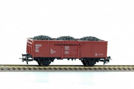 Märklin 4431 Bruin met kolen ladingPlat