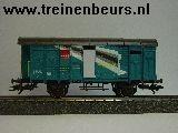 Märklin 46052 Groenblauw, met remmershuis, railbouw