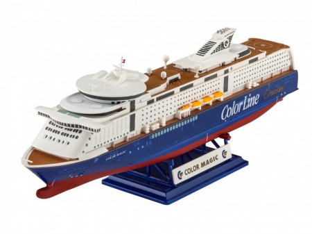 REVELL 05818 Schepen- Civiel Cruiseschip MS Color Magic 1:1200
