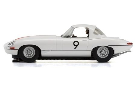 SCALEXTRIC 3890 JAGUAR E-TYPE BOB JANE 1965