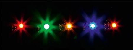 FALLER 180652 5 LEDS, IN VERSCHILLENDE KLEUREN