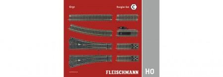 Fleischmann 6191 PARALLEL SET C NIEUW