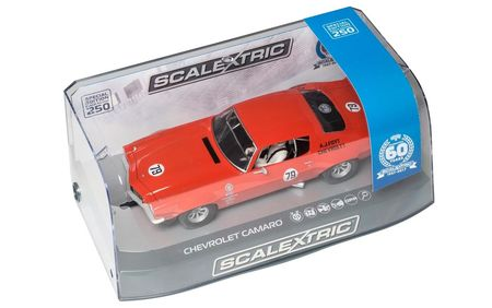 SCALEXTRIC 3725A CHEVROLET CAMARO 60TH ANNIV. SPECIAL EDITION