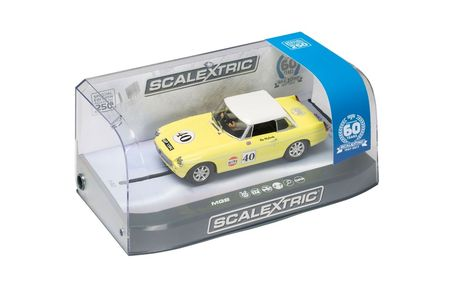 SCALEXTRIC 3746A MG MGB 60TH ANNIV. SPECIAL EDITION